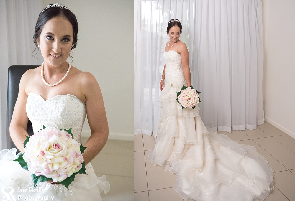 Australian wedding photographer,Oaks Oasis Resort,Oaks Oasis Resort wedding,Queensland wedding photographer,affordable sunshine coast photographer,bride getting ready,bride prep,bridesmaids in silver-grey,candid wedding photography,classy wedding,creative wedding photography,rainy day wedding,ring photo,sue reilly photography,sue reilly sunshine coast photographer,